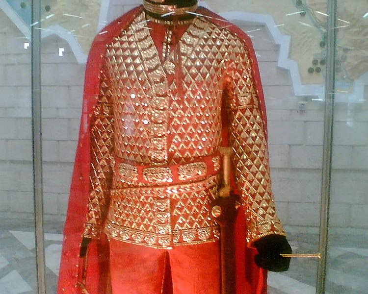 Золотой человек кургана Иссык issyk s golden cataphract warrior close view